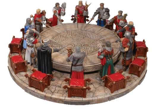 Camelot la patria della cavalleria album di kingarthur cavalieri della tavola rotonda immagine - La tavola rotonda di re artu ...